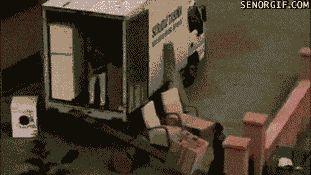 разгрузка мебели