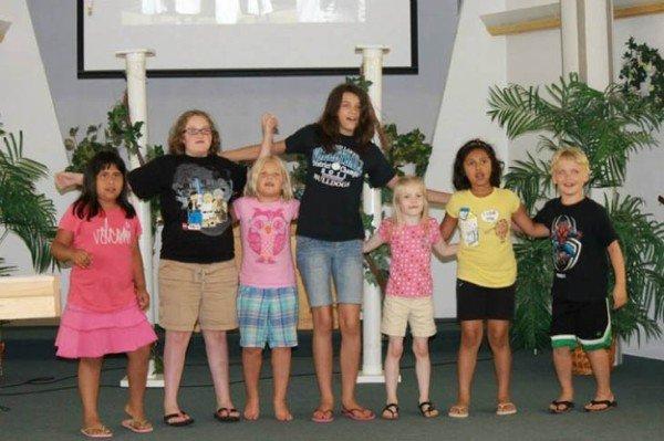 коллективное фото детей