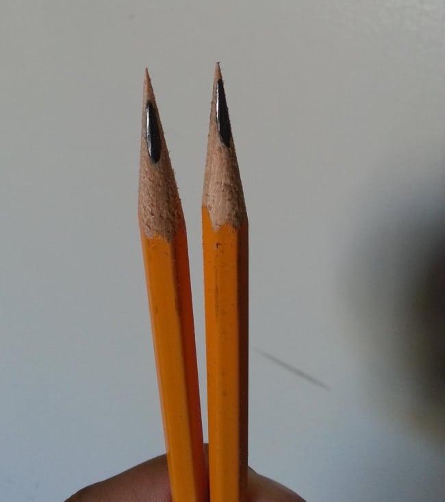 заточить карандаш