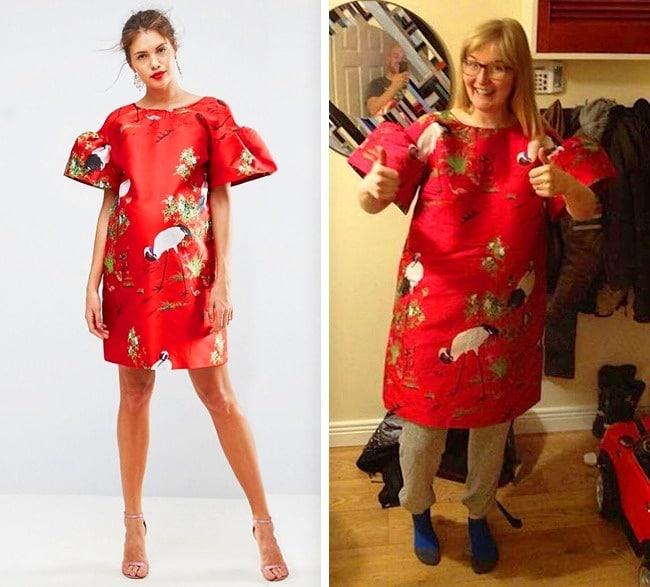широкое платье