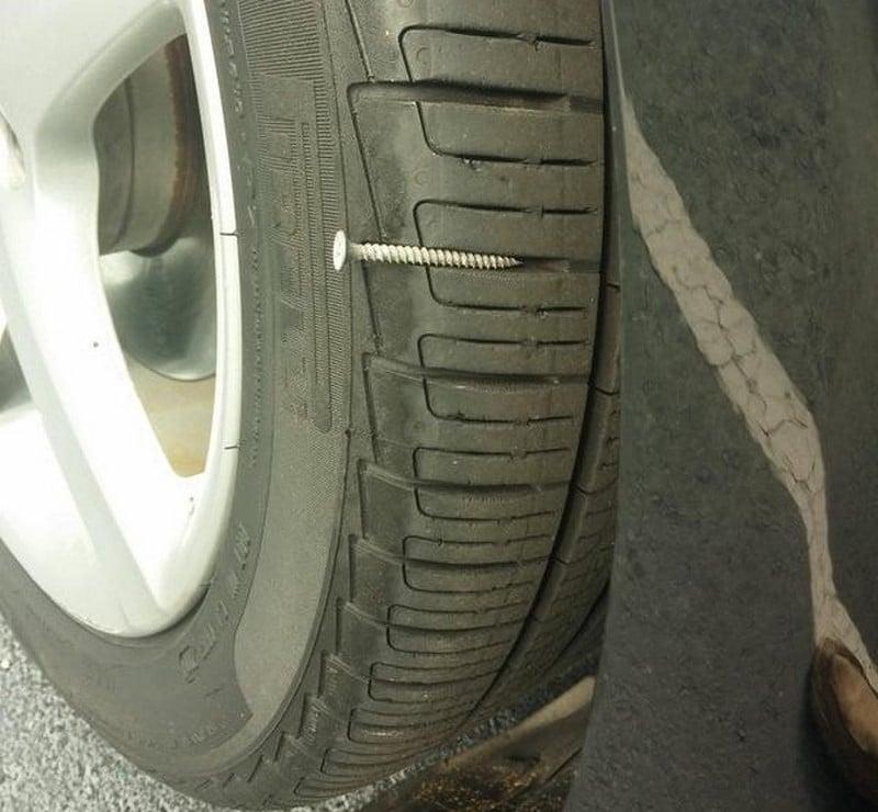 шуруп на шине