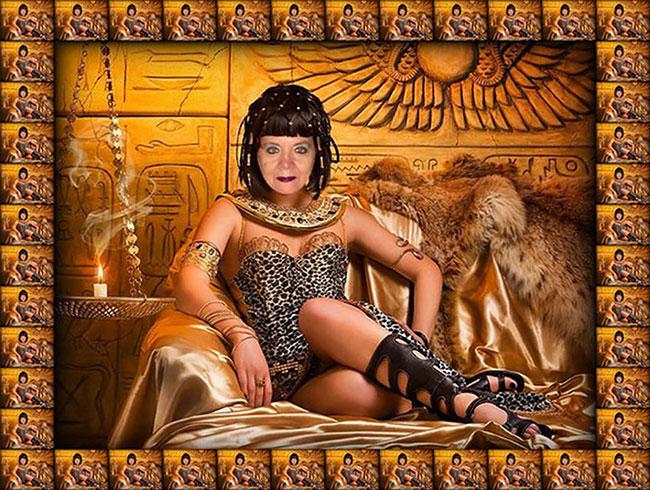 женщина-клеопатра