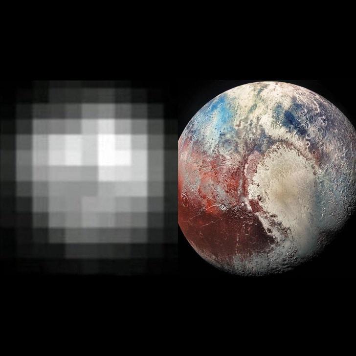 фото Плутона