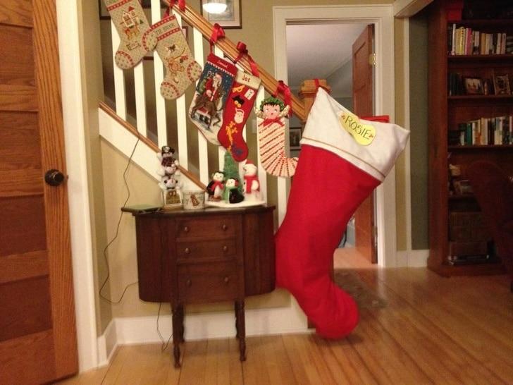 рождественский сапог