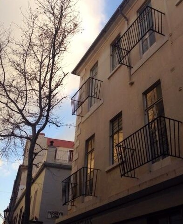 балкон без пола