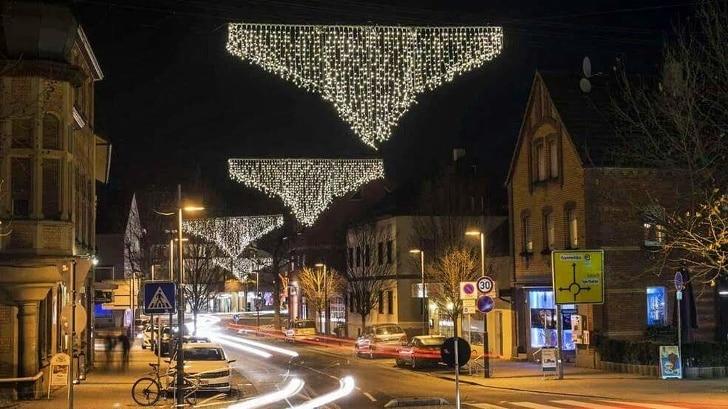уличная иллюминация