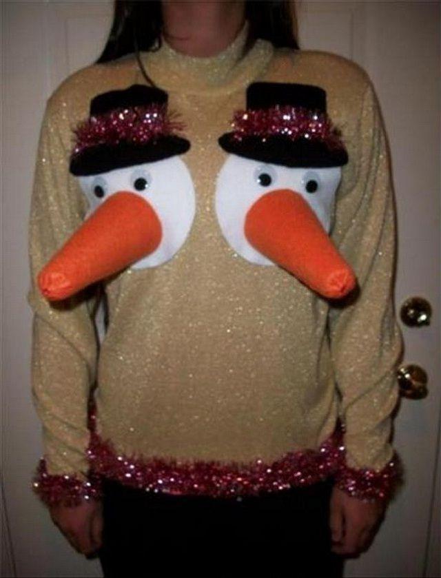 смешной свитер