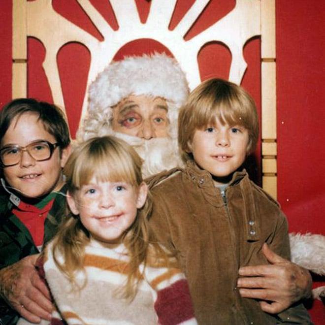 дети с Дедом Морозом