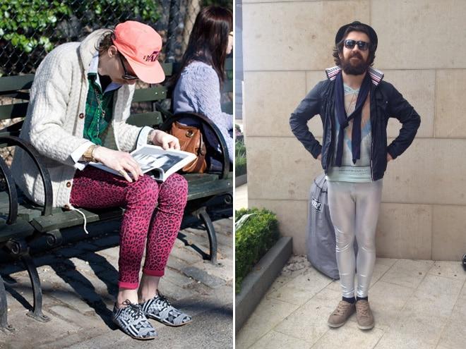 мужчины и странная мода
