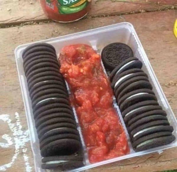 орео с кетчупом