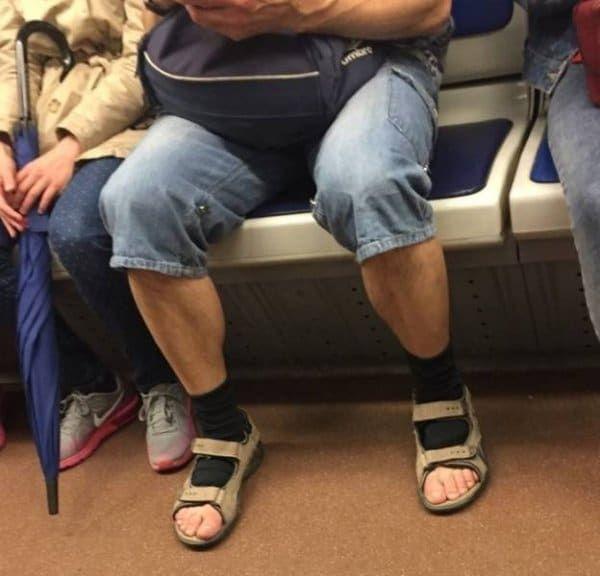 рваные носки