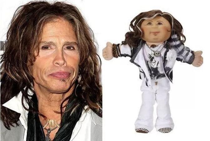 Стивен Тайлер кукла