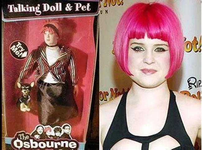 Келли Осборн кукла