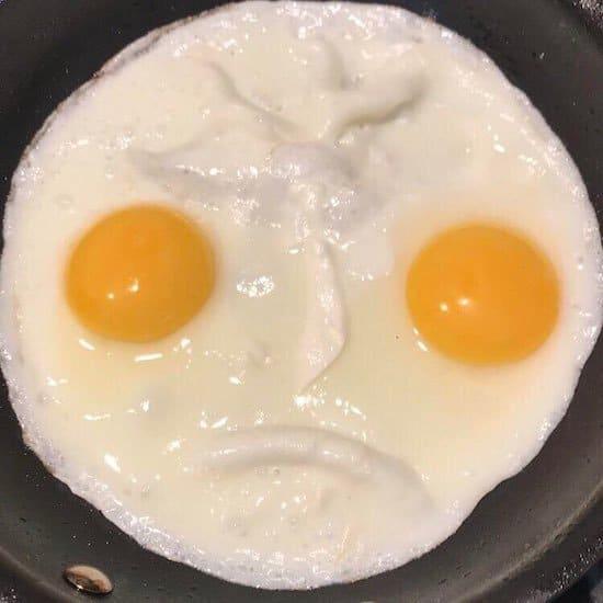 злая яичница