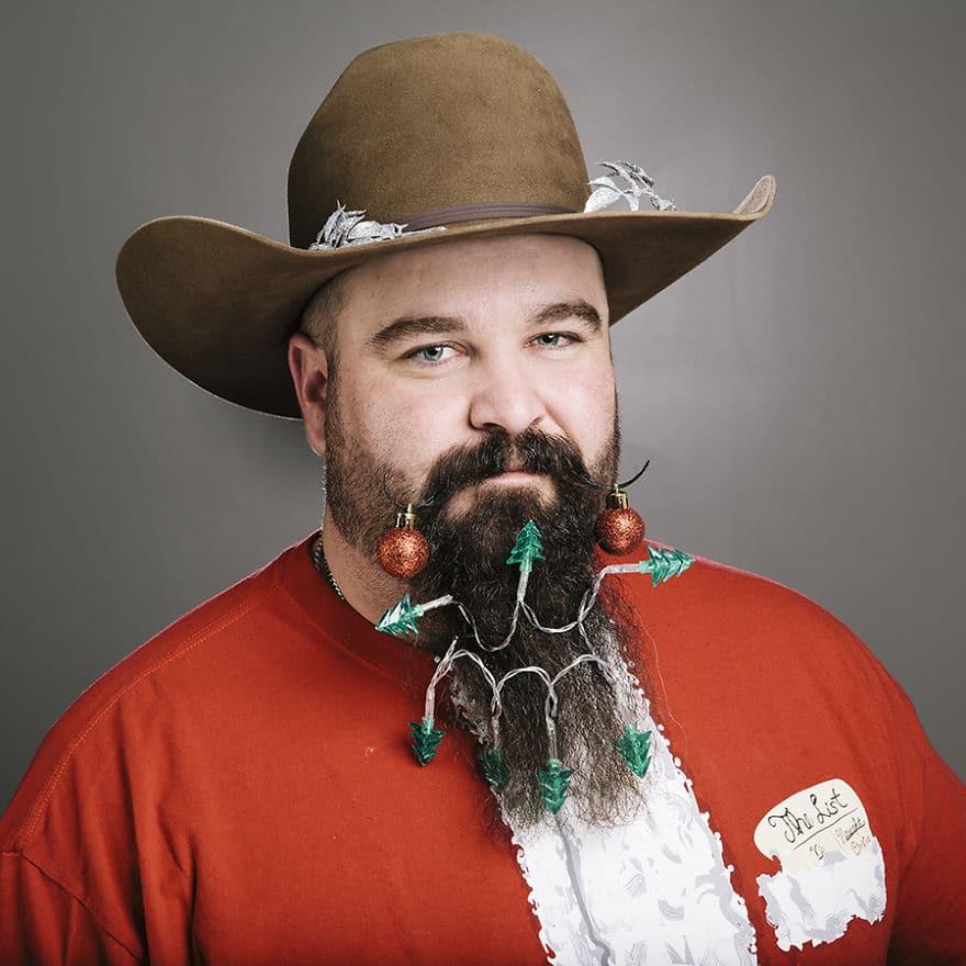 бородатый мужчина в шляпе