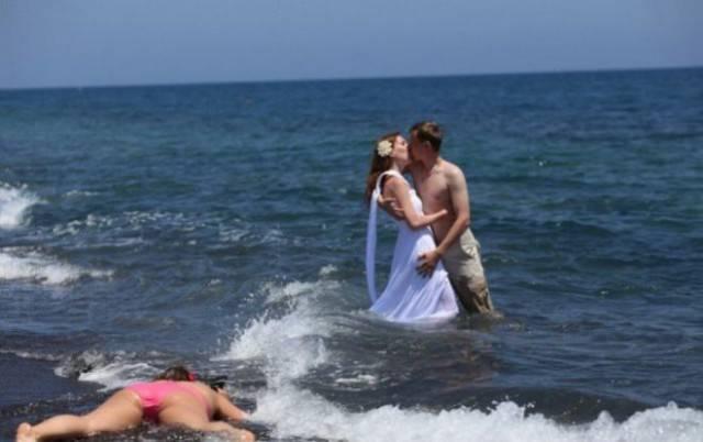 Свадебные фотографии людей, которые любят нестандартный подход во всём! Часть 2 рис 5