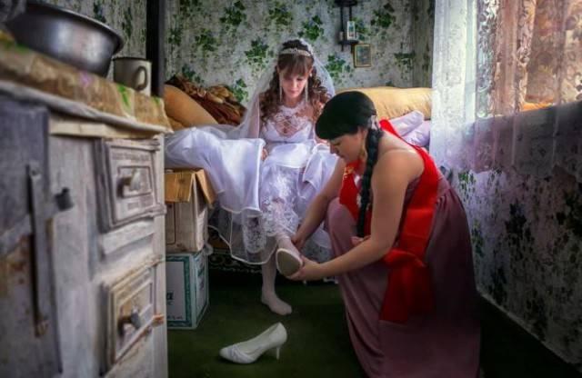 Свадебные фотографии людей, которые любят нестандартный подход во всём! Часть 2 рис 6
