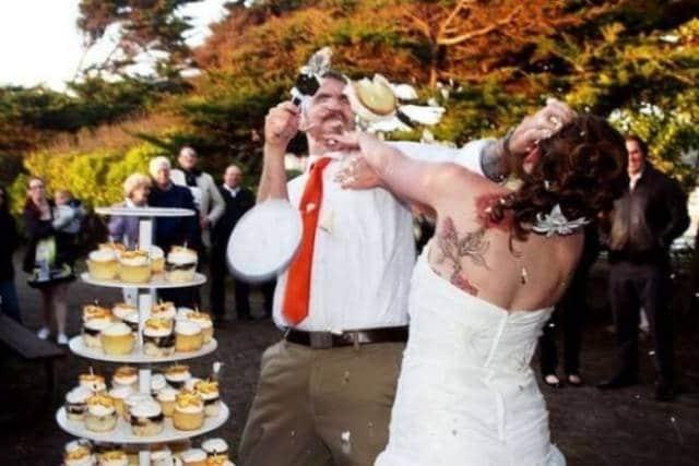 Свадебные фотографии людей, которые любят нестандартный подход во всём! Часть 2 рис 11