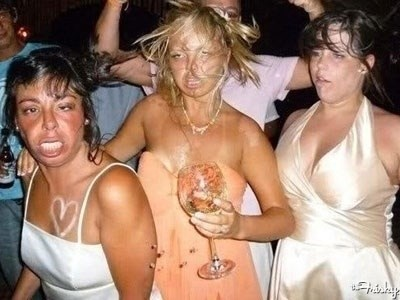 пьяные подружки невесты
