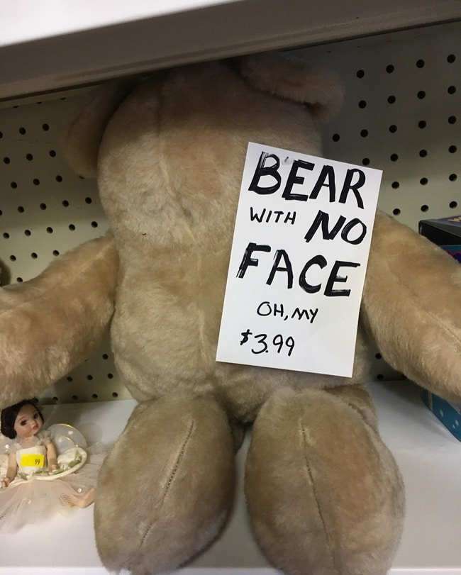 Медведь без лица