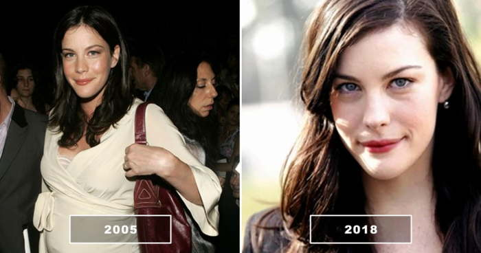 лив тайлер в 2005 и в 2018