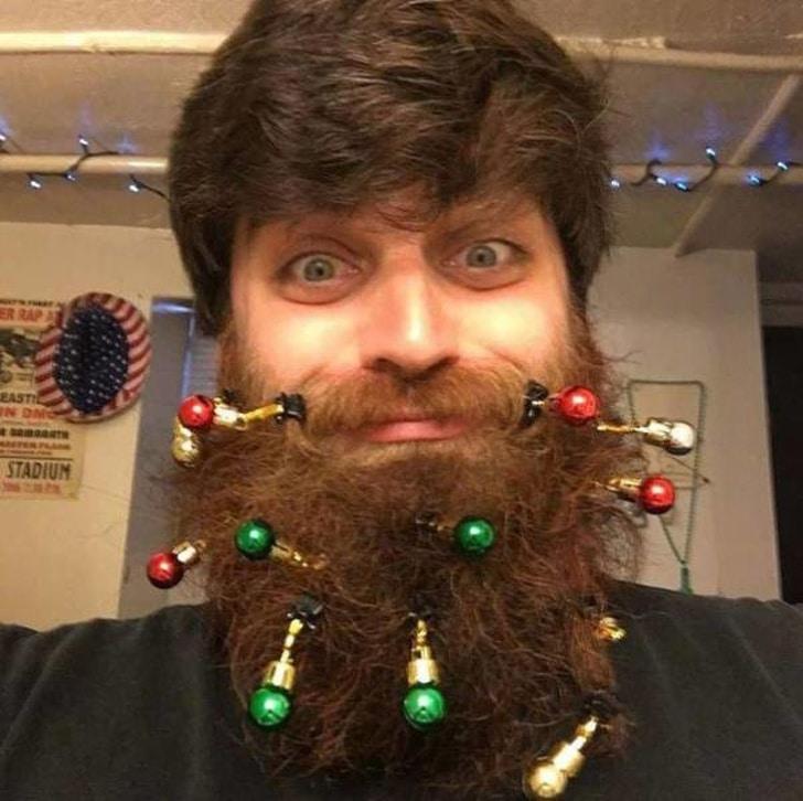 украшенная борода