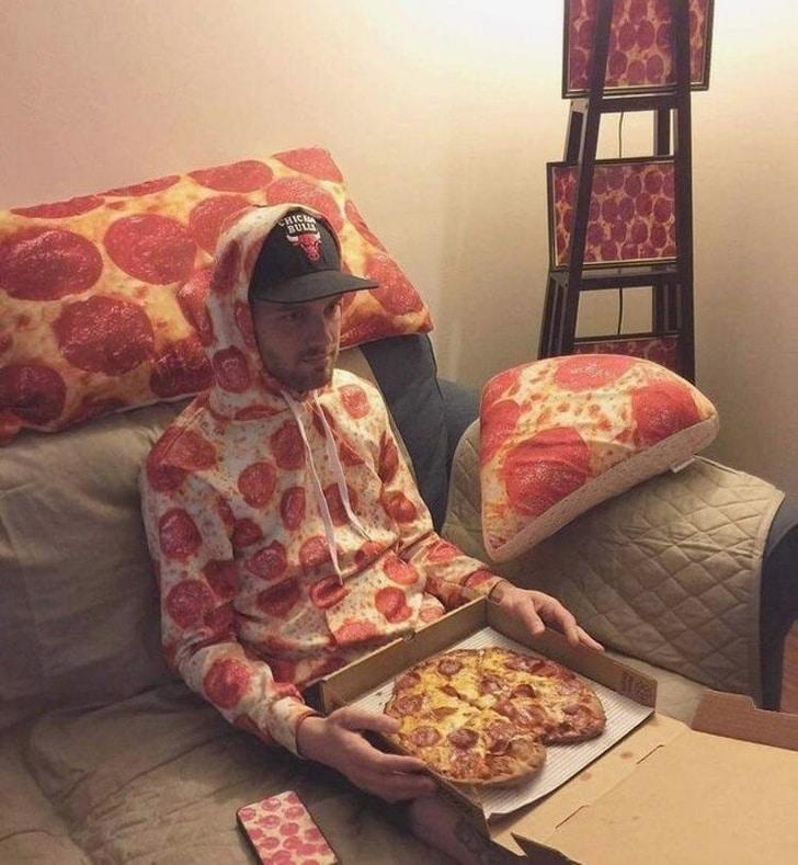 принт пиццы