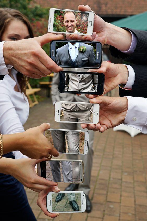 телефоны в руках