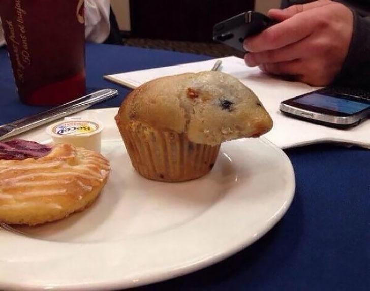 кекс в виде мышки