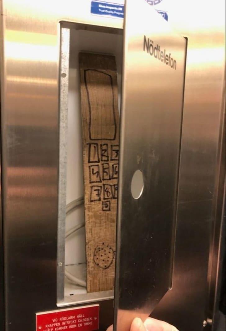 необычный телефон
