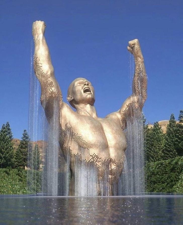 удивительный фонтан