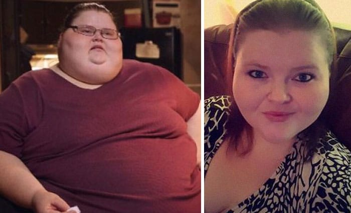 Фотографии женщины до и после похудения