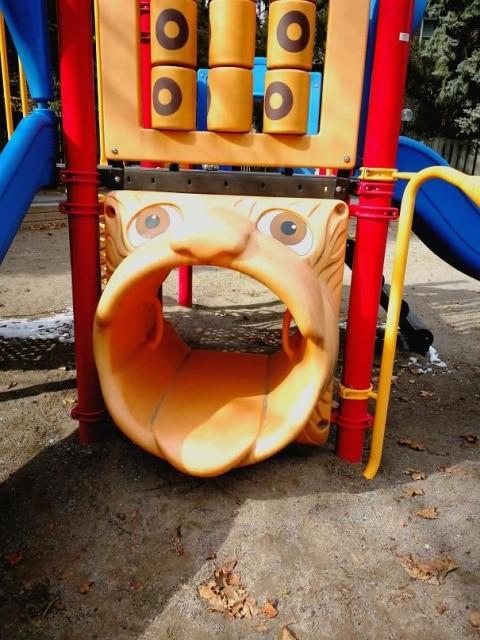 странное сооружение для детей