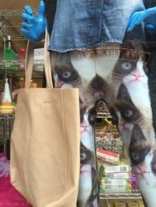 Лосины с изображением кота