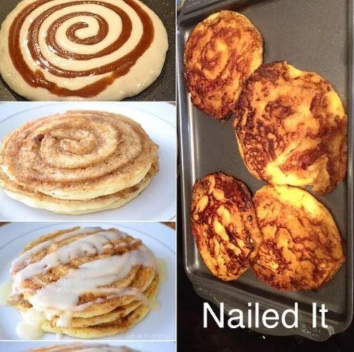 Печенье из рецепта и его неудачный вариант