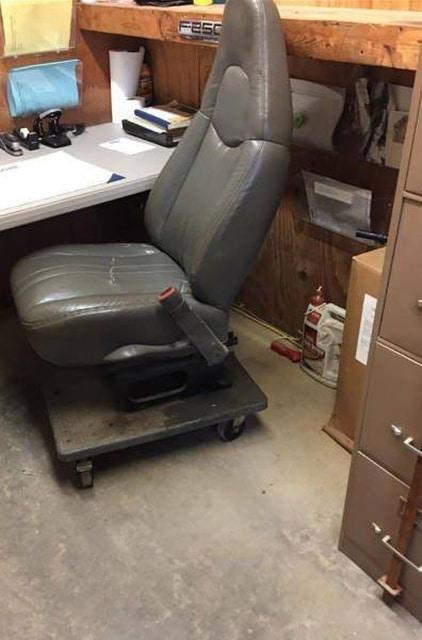 кресло из автомобиля
