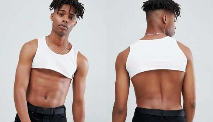 чернокожий парень в белом топе