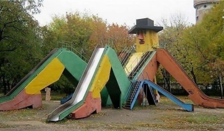 11 детских площадок, дизайн которых потерпел неудачу…)
