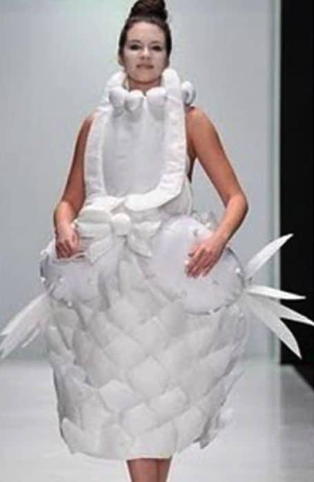 невеста на подиуме