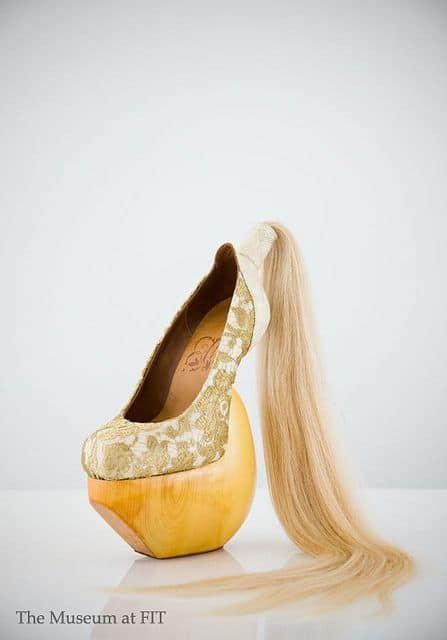 туфли с хвостом