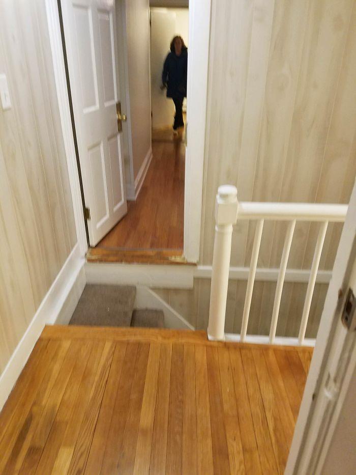 неудачная лестница