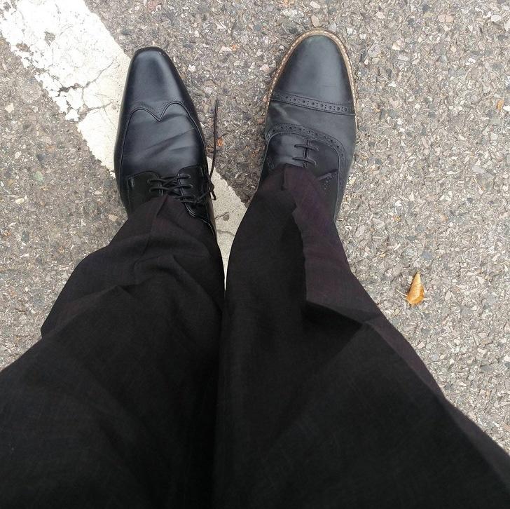 разные туфли