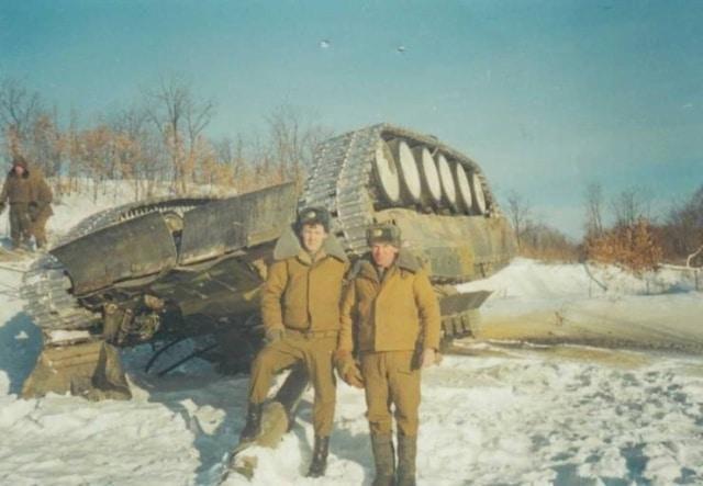 перевернутый танк