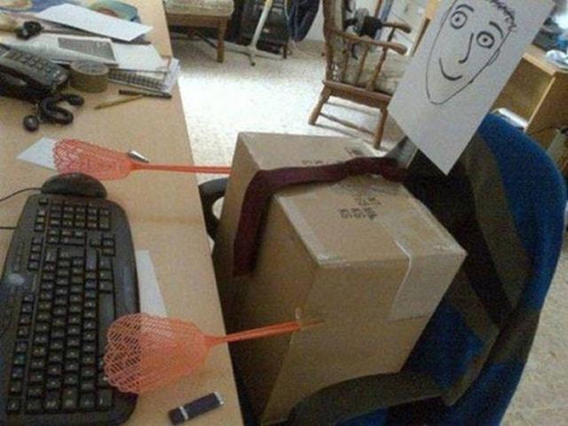шутки на работе