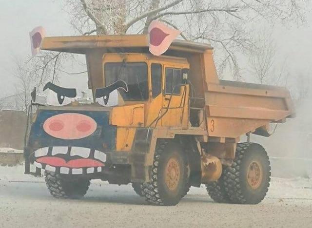 машина в виде свиньи