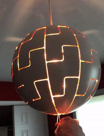 космическая лампа