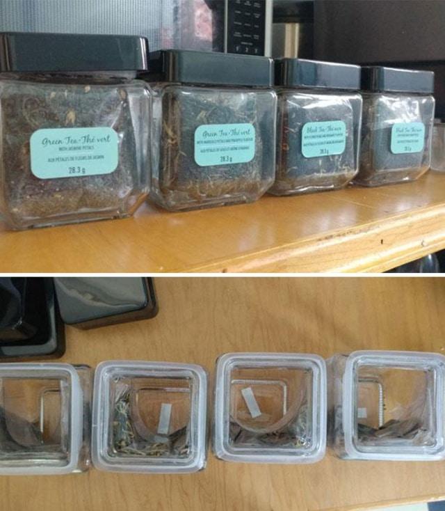 баночки от чая