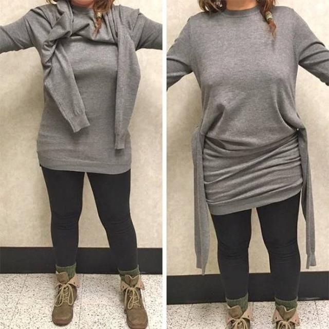 свитер с четырьмя рукавами