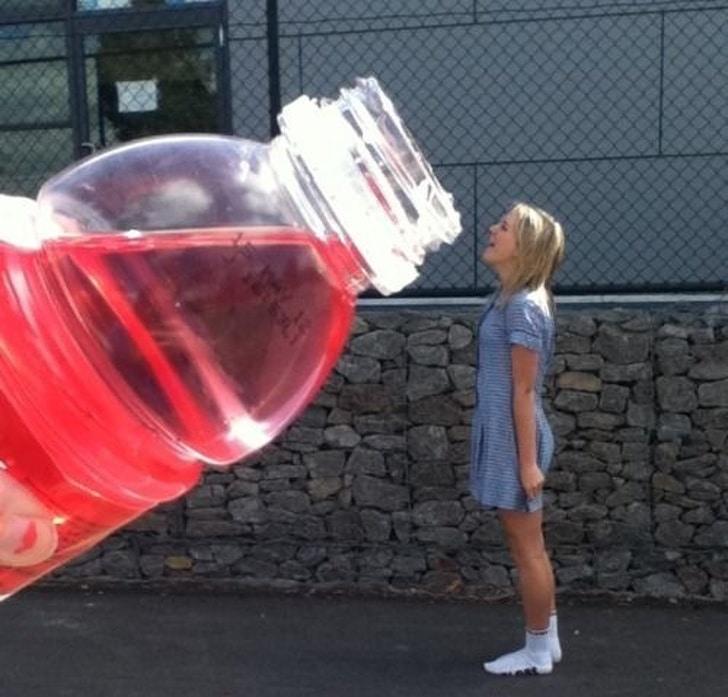 большая бутылка