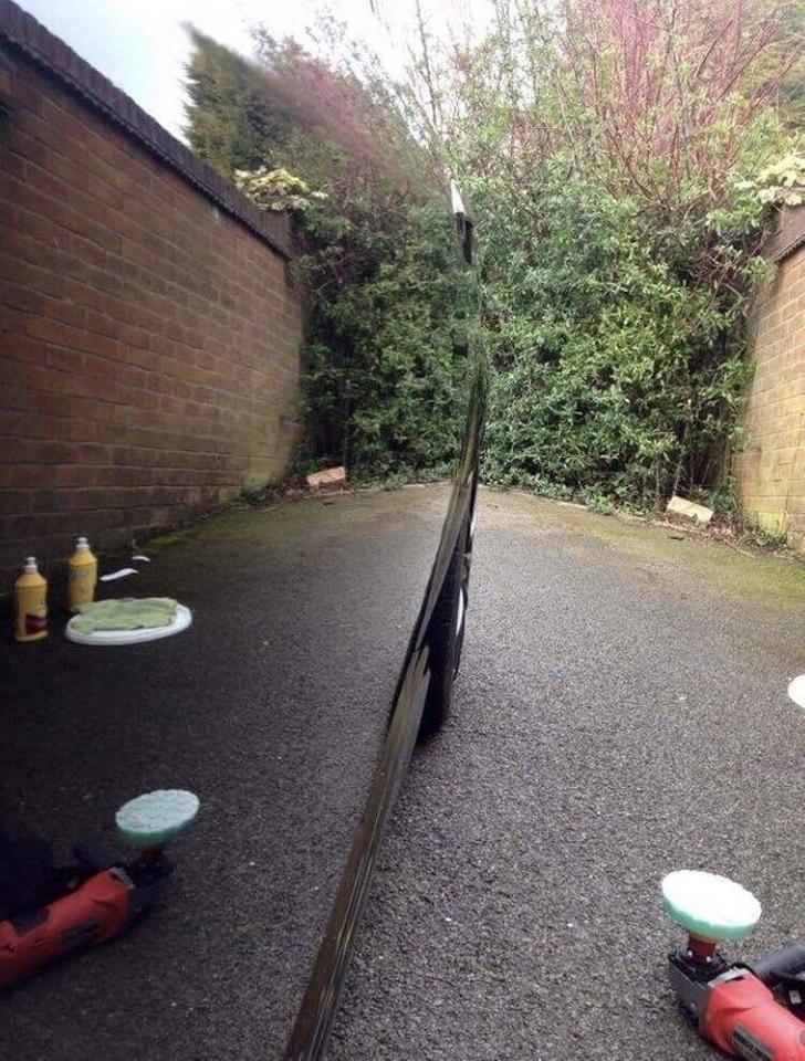 помытое авто